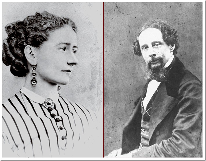 The Most Famous Love Affairs in the History of Entertainment - Nelly Ternan and Charles Dickens